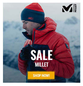 It's sale on Millet ! Up to 50% off !