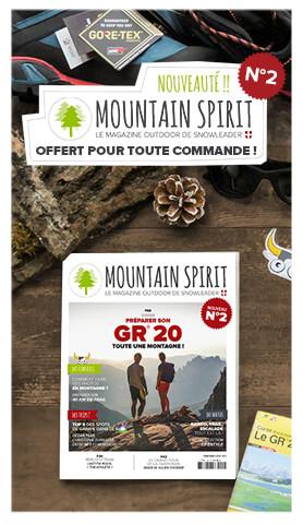 Un Mountain Spirit n°2 offert pour toute commande !