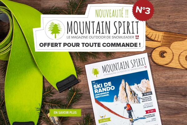 Le Mountain Spirit n°3 est arrivé ! Découvrez le magazine de Snowleader gratuitement en passant commande.