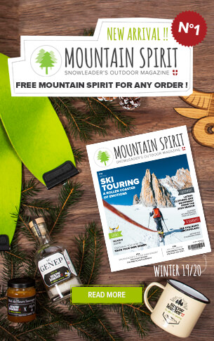 Free Mountain Spirit for any order !