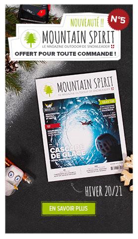 Le Mountain Spirit n°5 est arrivé ! Découvrez le magazine de Snowleader gratuitement en passant commande.