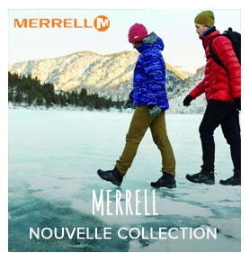 Nouvelle collection Merrell