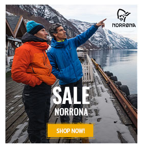It's sale on Norrona ! Up to 50% off !