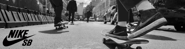 Bannière guide des tailles Nike Skateboarding