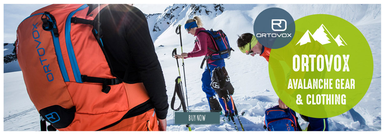 Ortovox backpacks and avalanche gear