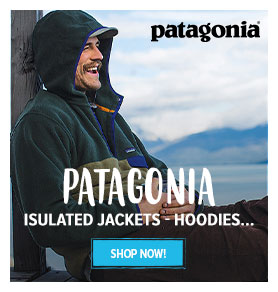 Come discover Patagonia's new products : Isolated Jackets, Hoodies, Jackets...