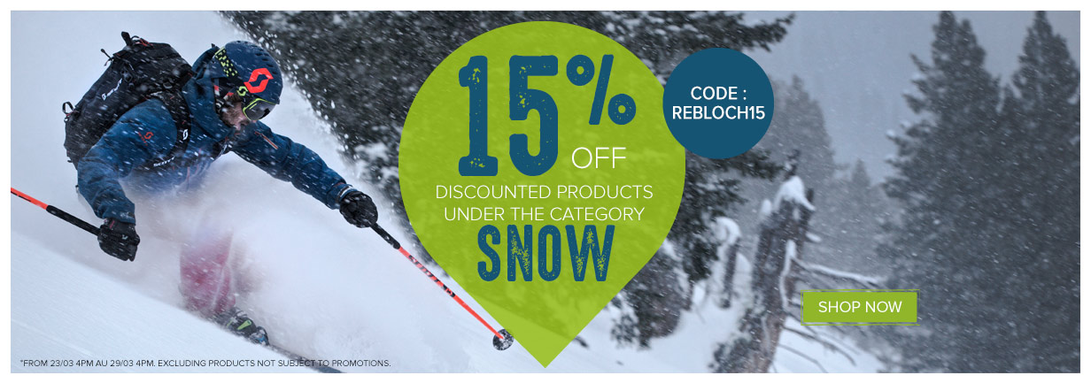 Save an extra 15% on Snow sale items
