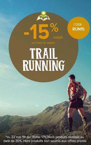 -15% sur le Trail !