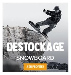 Profitez du destockage Snowleader sur le Snowboard !