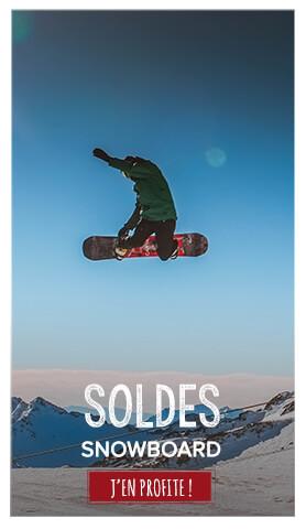 Soldes snowboard
