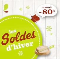 SOLDES d'Hiver : jusqu'à -80% !