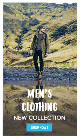 The new Men's Clothing collection!