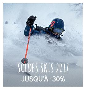 Soldes Skis : jusqu'à - 30% !