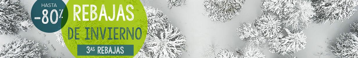 Rebajas de ivierno, hasta -80% del 09/01 al 19/02 !