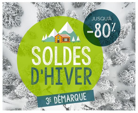 Soldes d'hiver, jusqu'à -80% du 09/01 au 19/02 !