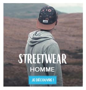 Découvrez tout le Streetwear Homme !