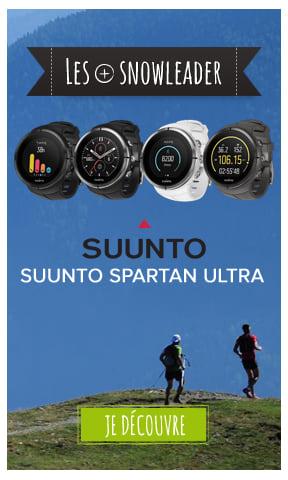 Nouvelles montres Suunto Spartan Ultra
