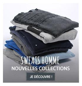 Nouvelles collections Sweats homme !