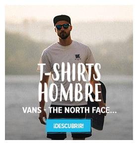 Descubrir T-shirts Hombre : Carhartt, Vans, Adidas…