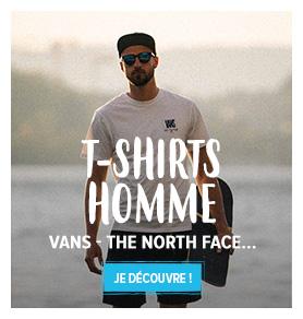 Découvrez notre rayon T-Shirts Homme : Carhartt, Vans, Adidas…