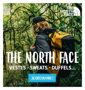 Découvrez The North Face : Vestes, T-shirt, Duffels…