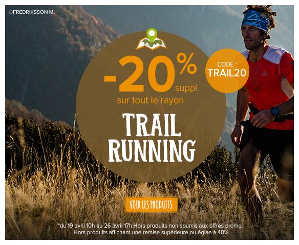 -20% sur le trail !