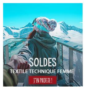 Textile technique femme en soldes
