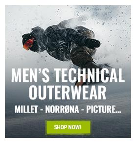 Men's technical outerwear