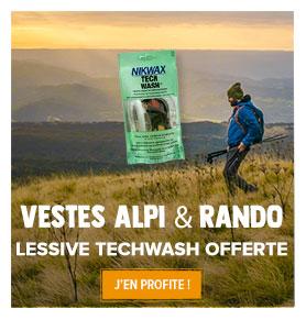 Sachet de lessive liquide Tech Wash offert !
