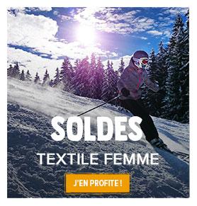 Profitez des soldes Snowleader sur le textile technique femme !