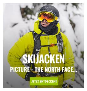 Skijacken : SALOMON, Picture, The North Face...