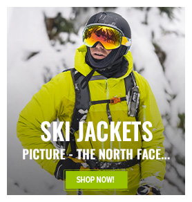 Come discover our selection of ski jackets : Salomon, The North Face, Picture...