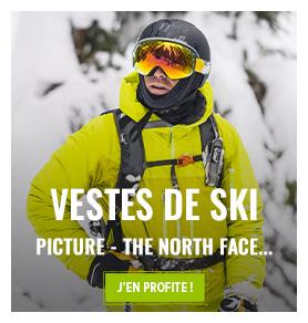 Découvrez notre rayon vestes de skis : Picture, The Noth Face, Salomon...