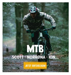 Entdecken MTB : Scott, Norrøna, ION...