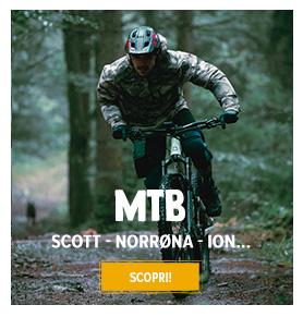 Scopri MTB : Scott, Norrøna, ION...