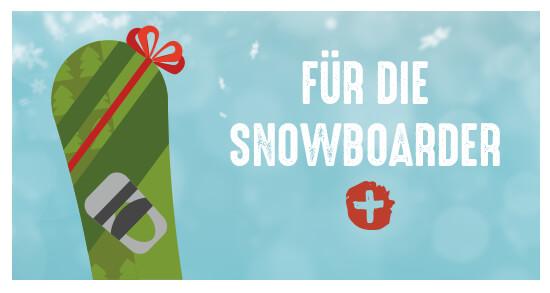 Geschenkideen für die snowboarder