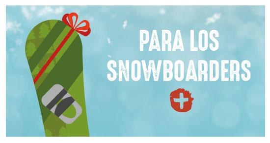 Ideas de regalo para snowboarders