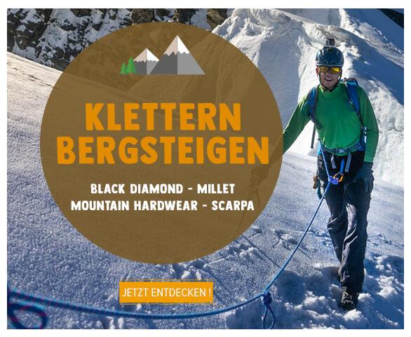 Klettern Bergsteigen produkten!