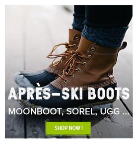 Après-ski boots for men and women !