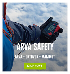 Come discover our avalanche safety kit collection!