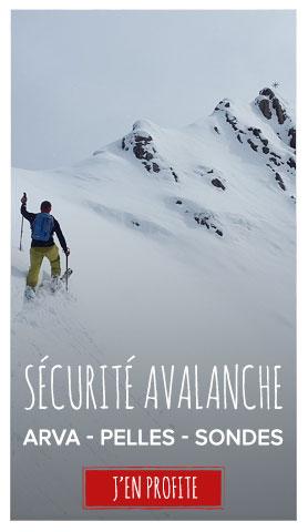 Sécurité avalanche : équipez vous !