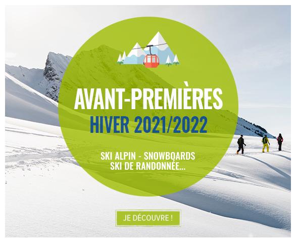 Découvrez les avants-premières Hiver 21/22 : Ski et Snowboard !