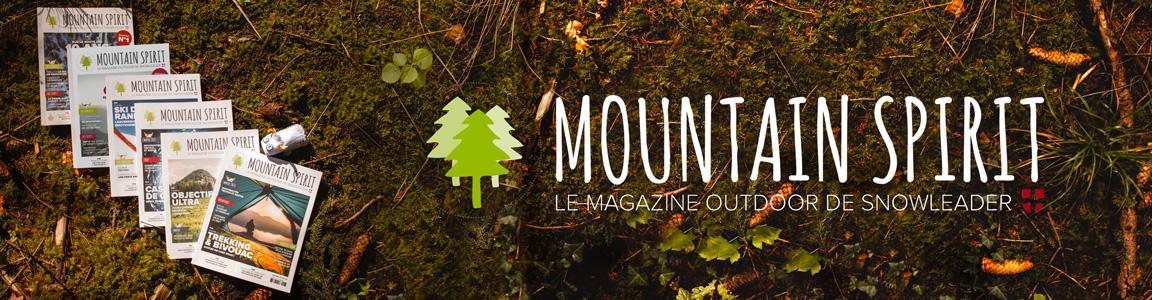 Mountain Spirit Snowleader bannière desktop - SS21