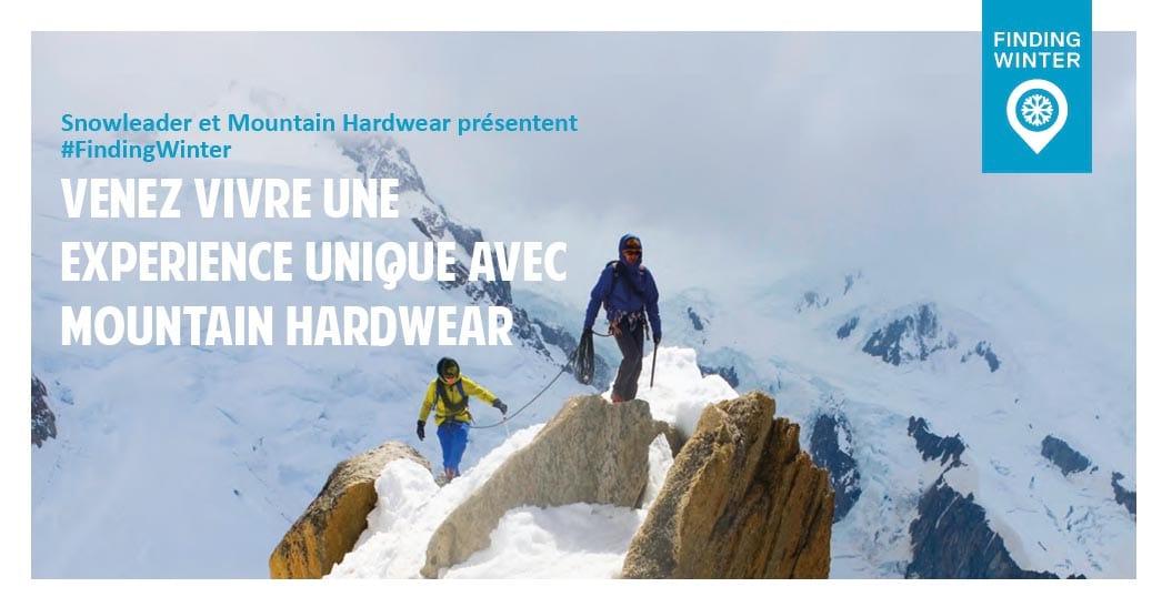 Jeu concours FindingWinter snowleader