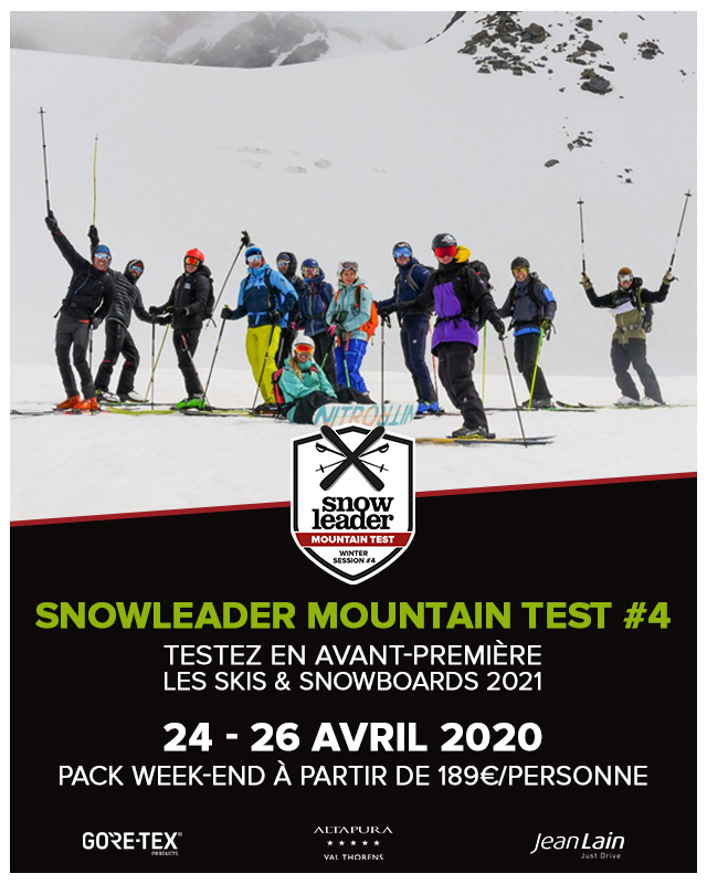 Banniere mobile Snowleader Mountain Test numero 4 24 au 26 avril