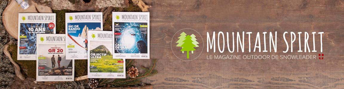 Mountain Spirit Snowleader bannière desktop