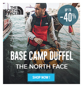 Up to 40% off on The North Face Base Camp Duffel  !