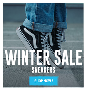 It's the Sale ! Come discover our sneaker's assortment on sale