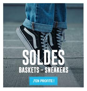 C'est les soldes ! Découvrez notre collection de baskets en soldes !