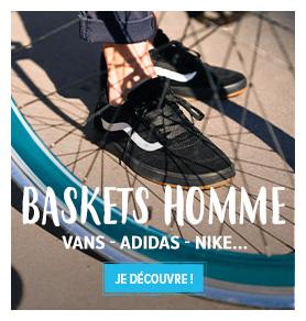 Découvrez notre rayon Chaussures Homme : Vans, Adidas, Nike…